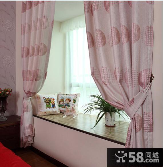 2013最新飘窗窗帘收梳台装修效果图