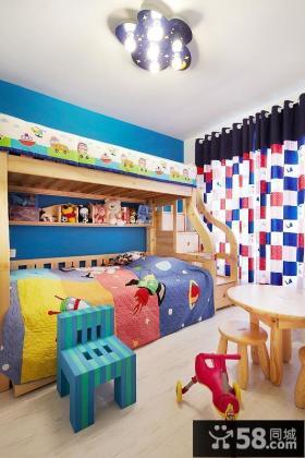 时尚创意混搭儿童房装修