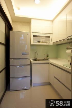 宜家简约风格超小厨房装修