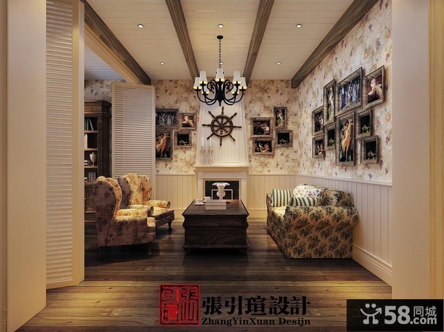 欧式装饰客厅图片