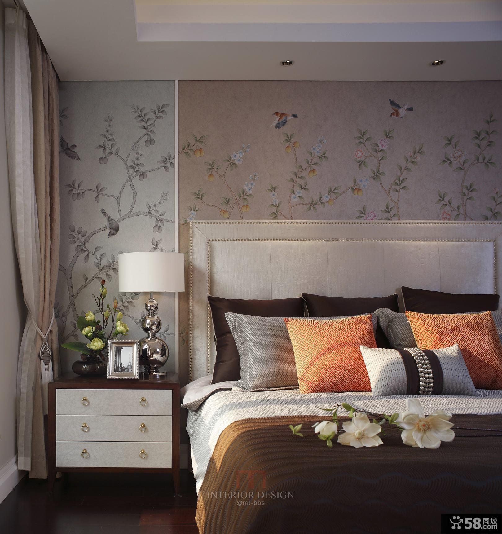 现代美式卧室灯大全