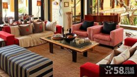 美式家庭装饰客厅效果图大全