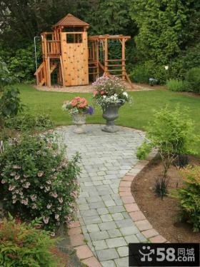 私人别墅庭院景观效果图大全