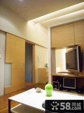 日式简约公寓室内装修图片