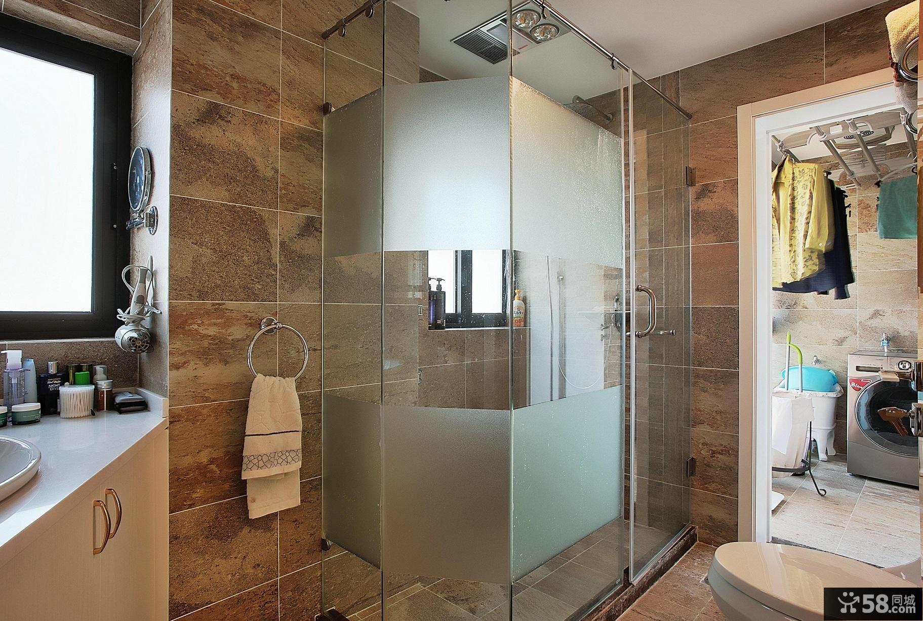 现代卫生间家居装饰设计效果图欣赏