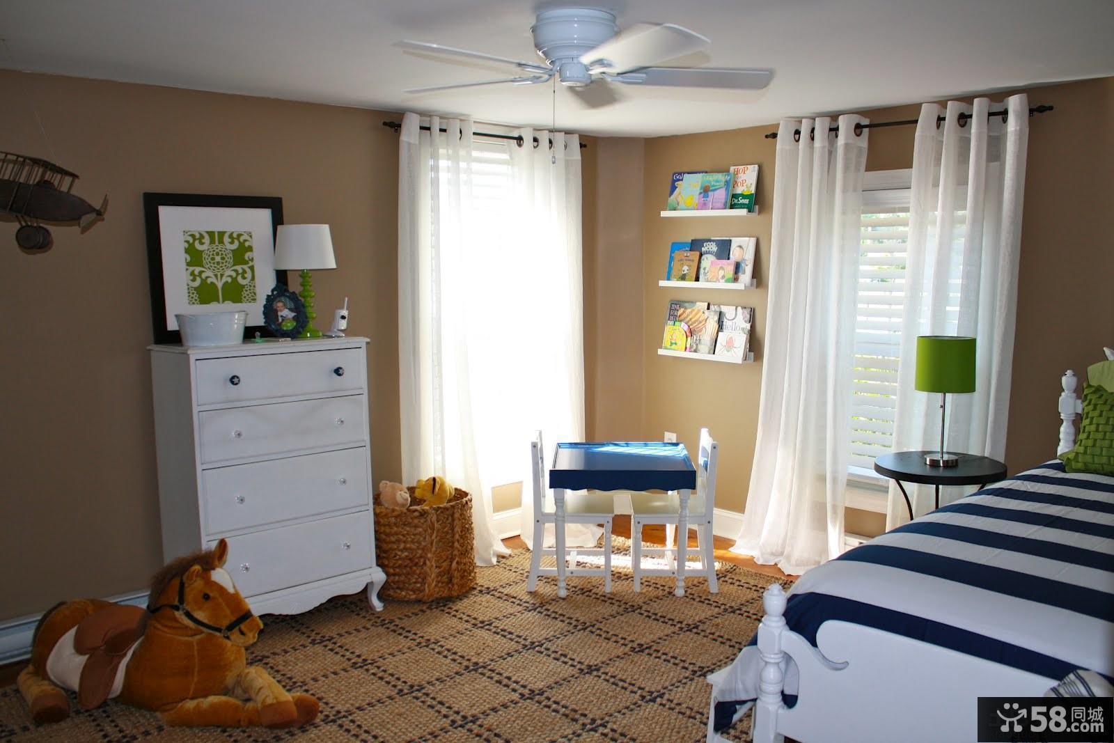 儿童卧室家具图片欣赏