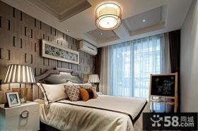 中式时尚卧室设计效果图