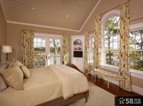 别墅卧室装修效果图大全2013图片