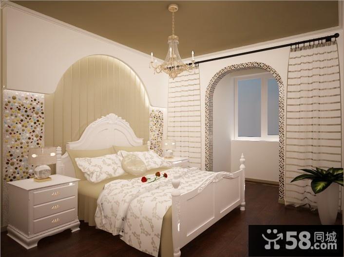 卧室壁纸装修效果图大全2016款