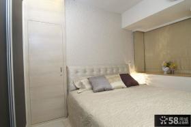 55平米宜家风格一室一厅卧室装修效果图