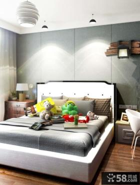 最新简欧风格卧室图片欣赏