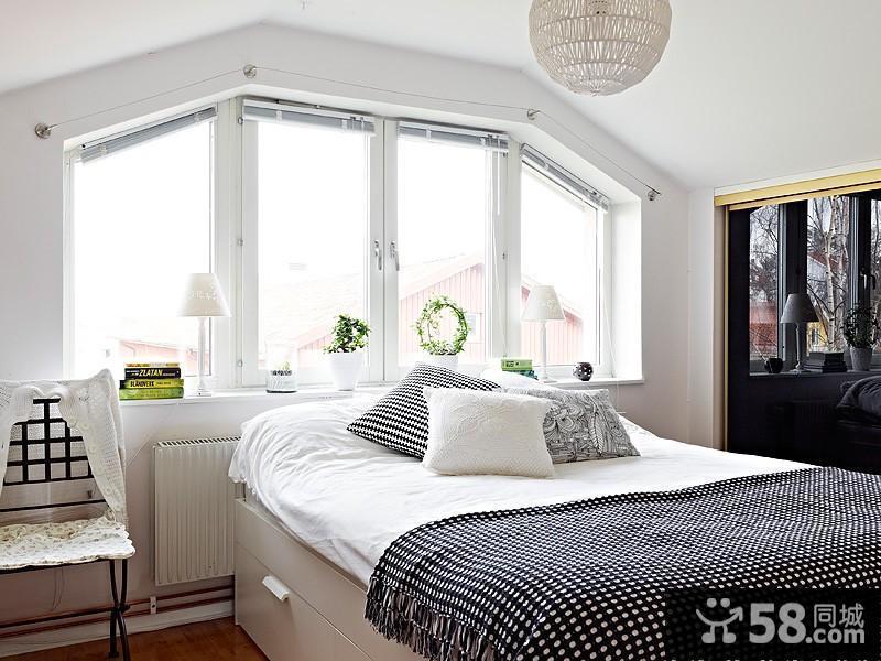 卧室床头壁纸装修效果图