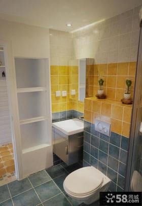卫生间瓷砖颜色搭配效果图欣赏