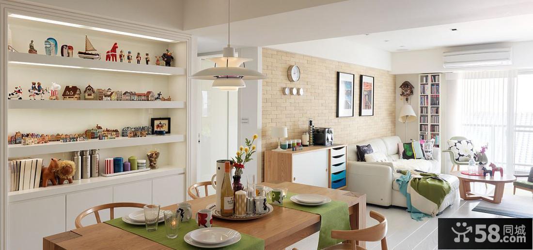 小户型厨房简约装修图