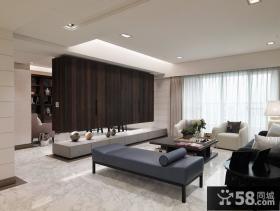 现代风格三房室内设计效果图