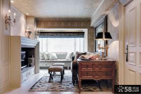 欧式风格小客厅装修效果图片