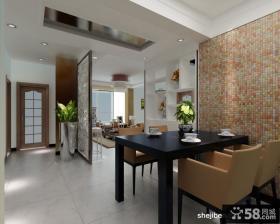 三室两厅两卫装修效果图 仿古客厅设计