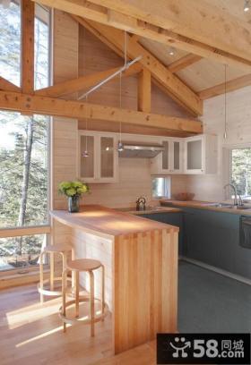 美式田园风格家具休闲区图片