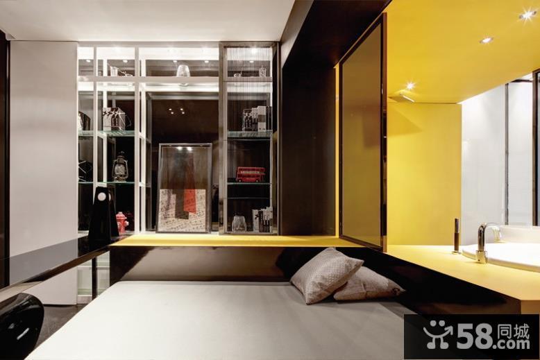 现代风格创意两居室装修设计图
