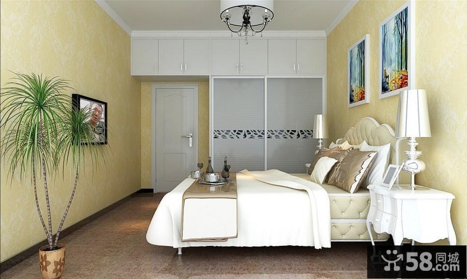 欧式卧室装修效果图适合女生