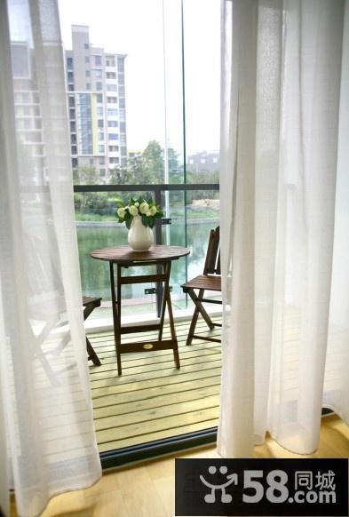 小户型卧室阳台