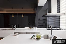 现代风格一居厨房装修效果图