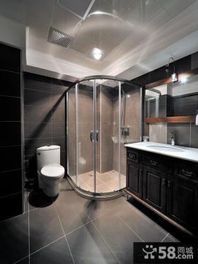 别墅整体浴室装修图片
