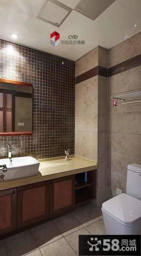 卫生间瓷砖搭配效果图欣赏