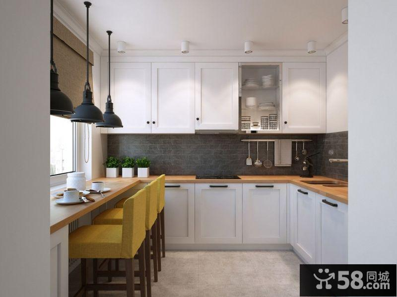 小户型厨房欧式装修效果图