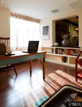 最新现代书房装修效果图大全2013图
