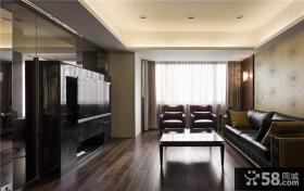 美式现代风格三居室设计装饰图片