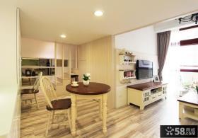 田园风格两室两厅设计效果图欣赏