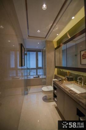 美式新古典卫生间图片大全欣赏