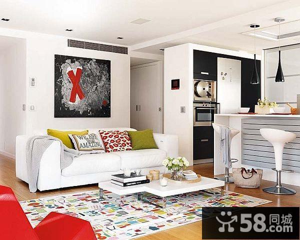 客厅电视背景墙造型效果图