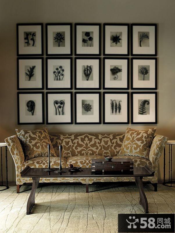 简约中式客厅装修