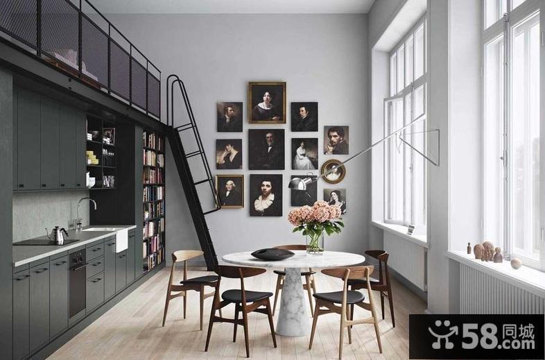 墙纸卧室简约现代