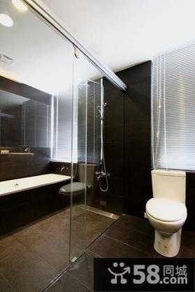 现代卫生间装修展示案例