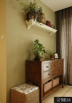 美式三居室内设计装饰效果图