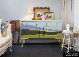田园风格彩绘家具效果图
