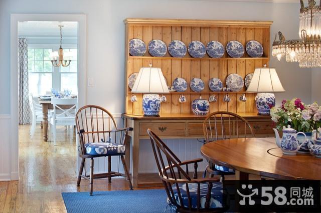 中式小户型客厅装修图