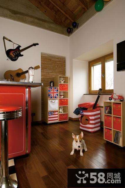 小户型客厅厨房装修