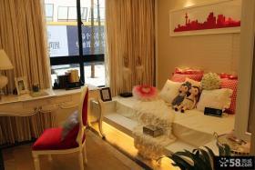 现代欧式风三室两厅儿童房装修效果图