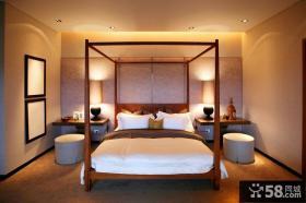 简中式豪宅卧室装修欣赏