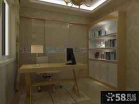 欧式小书房装修效果图欣赏