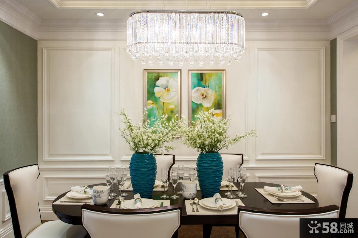 时尚水晶餐厅吊灯图片