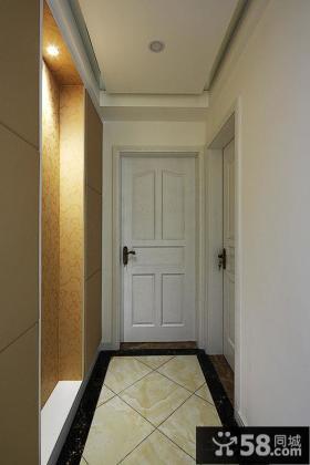 时尚家居进门玄关装修设计