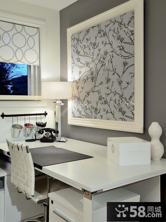 飘窗书桌设计效果图片