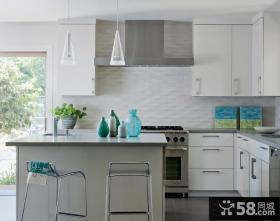 简约四室两厅开放式厨房装修效果图