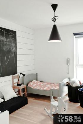 现代简约卧室床头柜图片
