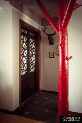东南亚风格进门玄关装修图欣赏